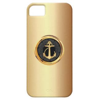 Caso náutico del iPhone 5 del ancla elegante del iPhone 5 Carcasa