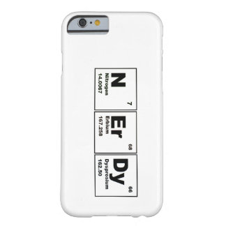 Caso Nerdy del iPhone 6 Funda Barely There iPhone 6