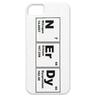 Caso Nerdy del iphone iPhone 5 Protector