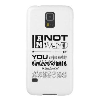 Caso no extraño de Barely There del nexo de la Carcasa Para Galaxy S5