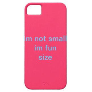 caso no pequeño del tamaño de la diversión im im iPhone 5 funda