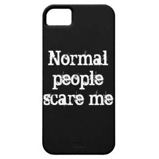 Caso normal de la gente funda para iPhone 5 barely there