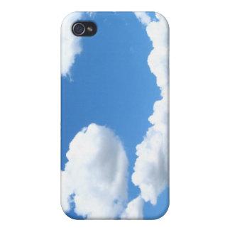 Caso nublado del iPhone 4 iPhone 4 Cárcasa