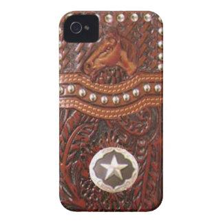 Caso occidental de IPhone 4 del caballo salvaje iPhone 4 Case-Mate Cárcasa