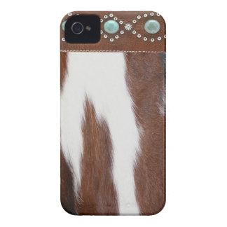 Caso occidental de IPhone 4 del zurriago y de la t Case-Mate iPhone 4 Cárcasas