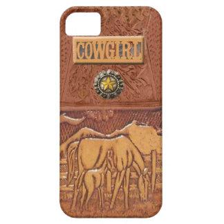 Caso occidental de IPhone 5 de la vaquera del iPhone 5 Carcasa
