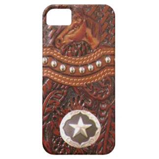 "Caso occidental de IPhone 5 del ""caballo salvaje"" iPhone 5 Cárcasas"
