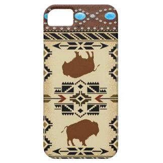 Caso occidental de IPhone 5 del nativo americano Funda Para iPhone SE/5/5s