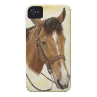 Caso occidental del caballo iPhone4/4S Carcasa Para iPhone 4