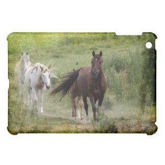 Caso occidental del iPad de los animales equinos d