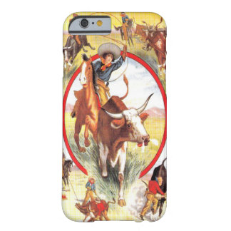 """""""Caso occidental del iPhone 6 de la vaquera del Funda De iPhone 6 Barely There"""