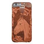 """Caso occidental del iPhone 6 del """"caballo"""" Funda De iPhone 6 Slim"""