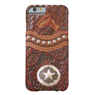 """Caso occidental del iPhone 6 del """"caballo salvaje"""" Funda Para iPhone 6 Barely There"""