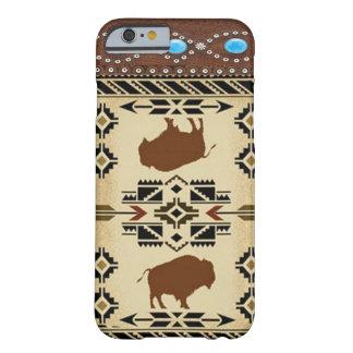 Caso occidental del iPhone 6 del nativo americano Funda Barely There iPhone 6