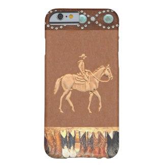 """Caso occidental del iPhone 6 del """"vaquero"""" Funda Barely There iPhone 6"""