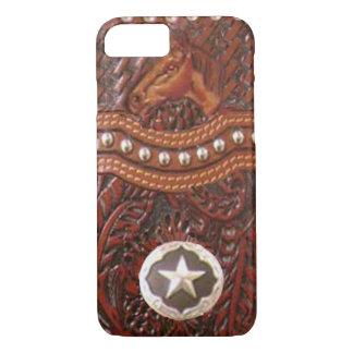 """Caso occidental del iPhone 7 del """"caballo salvaje"""" Funda iPhone 7"""