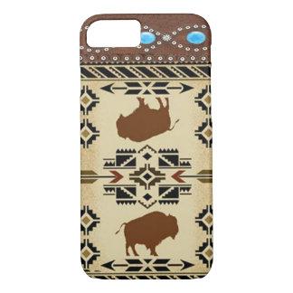 Caso occidental del iPhone 7 del nativo americano Funda iPhone 7