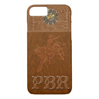 """Caso occidental del iPhone 7 del rodeo de """"PBR"""" Funda iPhone 7"""
