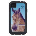 Caso occidental hermoso del iPhone 4 del caballo