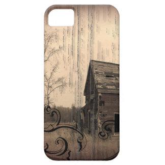 caso occidental rústico del país iphone5 del iPhone 5 carcasa