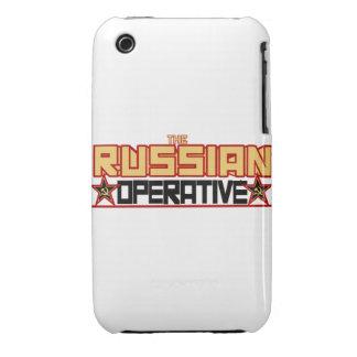 Caso operativo ruso de la casamata del Thr IPhone Funda Bareyly There Para iPhone 3 De Case-Mate