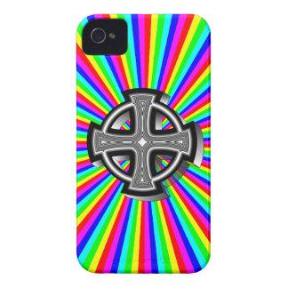 Caso óptico del iPhone 4/4S de la cruz céltica Case-Mate iPhone 4 Funda