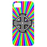 Caso óptico del iPhone 5 de la cruz céltica iPhone 5 Case-Mate Carcasa