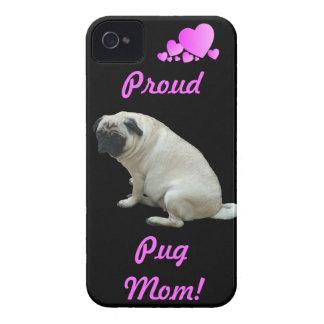 Caso orgulloso del iPhone 4/4S de la mamá del barr Case-Mate iPhone 4 Cárcasas