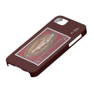 Caso original del iPhone 5 de los salmones iPhone 5 Protectores