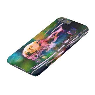 caso otterly soñoliento de la nutria de mar funda de iPhone 6 barely there
