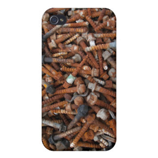 Caso oxidado del iPhone 4 de los tornillos iPhone 4/4S Funda