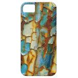 Caso oxidado del iPhone 5 de la pintura iPhone 5 Case-Mate Cárcasa
