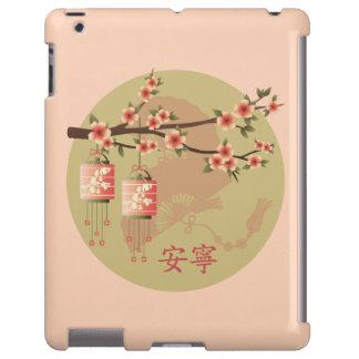 """Caso """"pacífico"""" del verde del melocotón de las funda para iPad"""