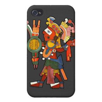 Caso para el guerrero indio maya del iPhone 4/4S iPhone 4 Funda
