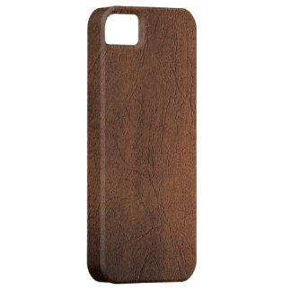 Caso parecido al cuero del iPhone 5 de Brown iPhone 5 Fundas