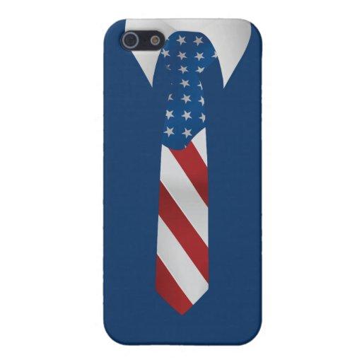 Caso patriótico americano del iPhone 5 del lazo de iPhone 5 Carcasa