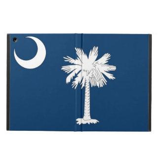 Caso patriótico del ipad con la bandera de Carolin