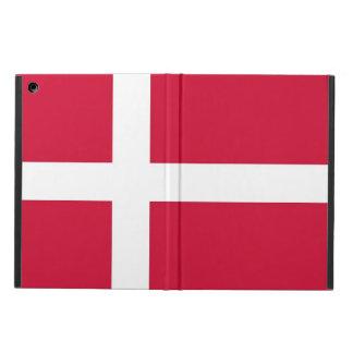 Caso patriótico del ipad con la bandera de Dinamar