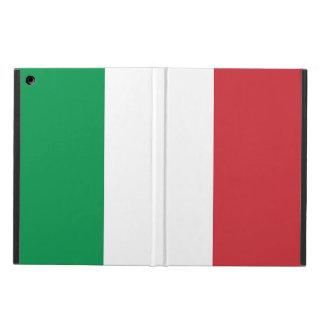 Caso patriótico del ipad con la bandera de Italia