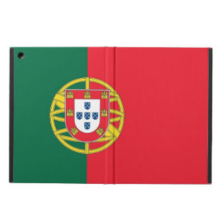 Caso patriótico del ipad con la bandera de Portuga
