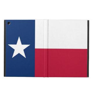 Caso patriótico del ipad con la bandera de Tejas