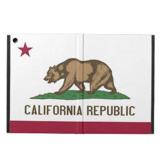 Caso patriótico del ipad con la bandera del estado