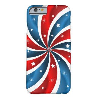 Caso patriótico del iPhone 6 Funda De iPhone 6 Barely There