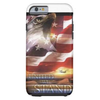 Caso patriótico del iPhone 6 Funda De iPhone 6 Tough
