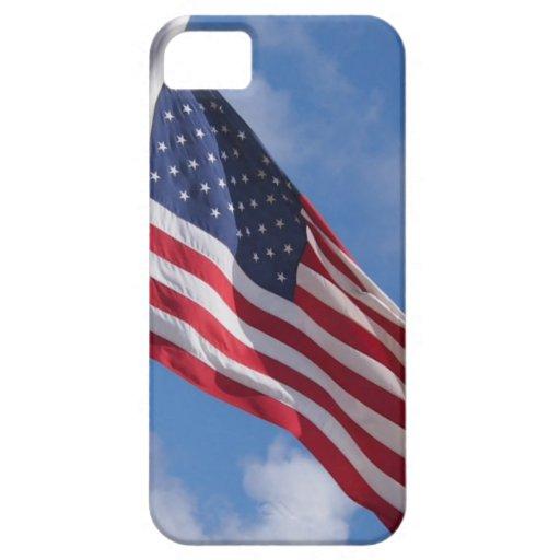 Caso patriótico del iPhone iPhone 5 Case-Mate Cárcasa