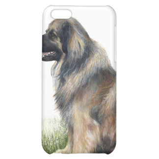 caso pedigrí Leonberger del iPhone del perro
