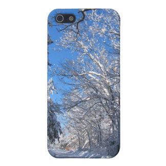Caso pegajoso del ~ de la nieve 35 iPhone 5 carcasa