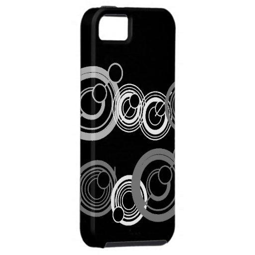 Caso perdido del iPhone de los círculos iPhone 5 Funda