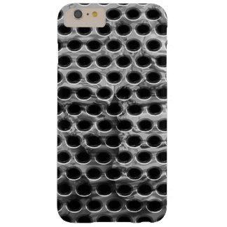 Caso perforado del iPhone del metal Funda Para iPhone 6 Plus Barely There