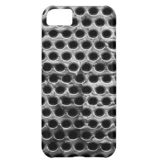 Caso perforado del iPhone del metal
